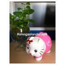 Heo hello Kitty Hồng