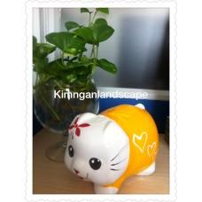 Heo hello Kitty Vàng